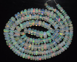 46.10 Ct Natural Ethiopian Welo Opal Beads Play Of Color
