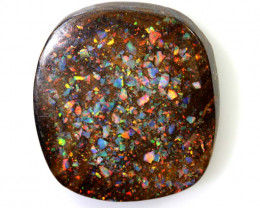 19.15CTS -  BOULDER OPAL INLAY POLISHED STONE NC-5770