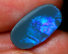 PRE Shaped 3.19cts Australian Lightning Ridge Opal