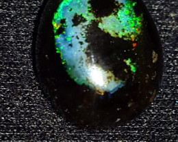 5.00 CRT BEUATY FLORAL PATTERN POLISHED INDONESIAN OPAL WOOD FOSSIL