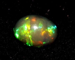 Natural Ethiopian Welo Fire Smoked Opal Loose Gemstone Cab 988