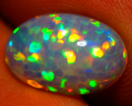 2.69 CT PINFIRE + 3D HONEYCOMB AAA Quality Welo Ethiopian Opal - BAA37