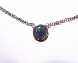 ON SALE was US$190 Australian Gem Grade Opal and Sterling Silver Pendant