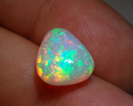 4 ct  Bright Fiery Ethiopian Welo Opal