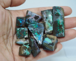 183.85CT VIEW ROUGH QUEENSLAND BOULDER OPAL  (Parcel) TA7