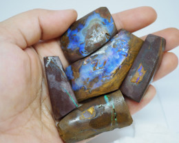 442.35CT VIEW ROUGH QUEENSLAND BOULDER OPAL  (Parcel) TA13