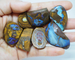 346.40CT VIEW ROUGH QUEENSLAND BOULDER OPAL  (Parcel) TA19