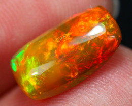 2.39Ct Georgous Saturated Pattern Ethiopian Welo Opal ~ D13/4
