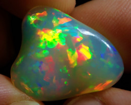 15 ct Extremely Bright Carved Natural Ethiopian Welo Supreme Opal