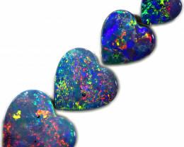 2.48 CTS OPAL DOUBLET HEART SHAPED  PARCEL [SAFE440]5