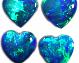 2.27 CTS DOUBLET OPAL PAIRS [SAFE456]9