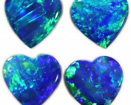 2.17 CTS DOUBLET OPAL PAIRS [SAFE457]