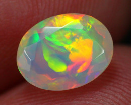 1.03Ct Georgeous Stunning Broadflash Fire Ethiopian Welo Faceted Opal ~ C14