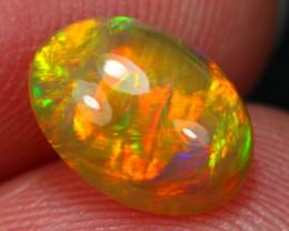 1.26Ct Amazing Neon Ribbon Pattern Ethiopian Welo Opal ~ C14/14
