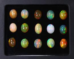 Exclusive 25.05Ct Multi Color Ethiopian Welo Opal Auction ~ D15/1