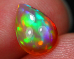 1.41Ct Rainbow Patchwork Pattern Ethiopian Welo Opal ~ D15/4