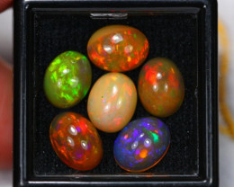 6.93Ct Multi Color Ethiopian Welo Opal Auction~ D15/5