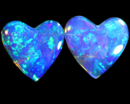 1.02 CTS CRYSTAL OPAL PAIRS [SAFE458]