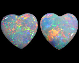 1.27 CTS CRYSTAL OPAL PAIRS [SAFE461]