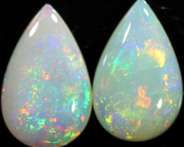 3.67 CTS CRYSTAL OPAL PAIRS [SAFE468]
