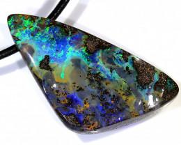 59ct 40x20mm Queensland Boulder Opal Pendant [BOP-070]