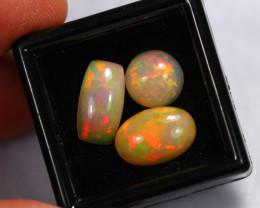 6.63Ct Multi Color Pattern Ethiopian Welo Opal Auction ~ C18/7