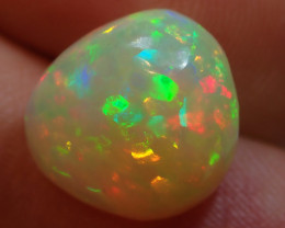 5.23ct Bright Solid Ethiopian Blazing Welo Opal
