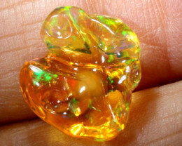 3.9-CTS MEXICAN  FIRE OPAL  FREEFORM  FOB-1790