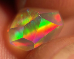 Freeform Faceted Mexican 1.550ct Crystal Opal (OM)