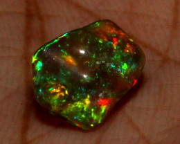 2.30 ct Natural Ethiopian Welo Fire Freeform Welo Opal Carvin 82