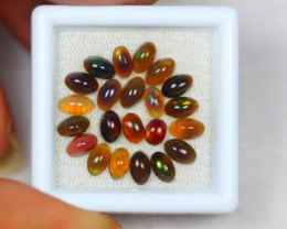 3.44Ct Natural Ethiopian Welo Smoked Opal Lot JA612