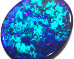 5.11 CTS BLACK OPAL STONE-NEON BRIGHT -LIGHTNING RIDGE- [LRO392] pete