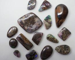 33.25ct Boulder Opal Parcel  AD4