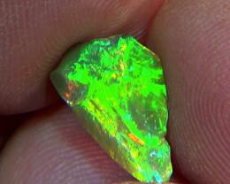 2.20 cts Ethiopian Welo CIRRUS dark brilliant opal N4 5/5