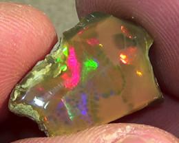 10.00 cts Ethiopian Welo CHAFF CELLS dark opal N4 3/5