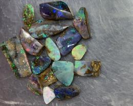51.7 Carats of Beautiful Queensland Boulder Rubs # 041