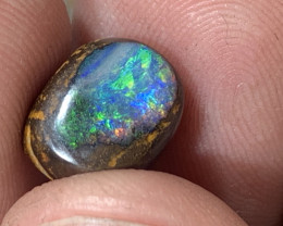 Rainbow boulder opal