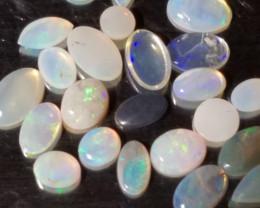 Assorted Australian Opal cabochons