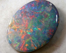 N4 -2.75 CTS QUALITY BLACK OPAL POLISHED STONE INV-1099