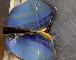 342 Carats of Solid/Natural Rough Boulder Opal Pairs  #058