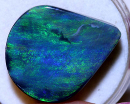 N3 -13.60 CTS QUALITY BLACK OPAL POLISHED STONE INV-1106