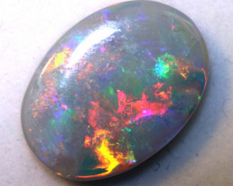 5.10-CTS  DOUBLE SIDE SEMI DARK OPAL  POLISHED TBO-8787