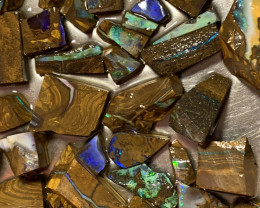 2100 Carats of Rough Boulder Opal, Queensland Boulder; #060