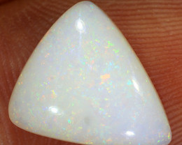 3.3ct 12x11mm Solid Coober Pedy White Opal [LO-1364]