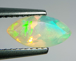 0.96 ct Top Quality Fire Marquise Cut Natural Ethiopian Fire Opal