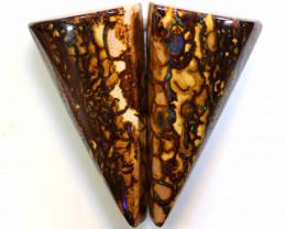 Australian Yowah Opal Pair 38.70cts C-145