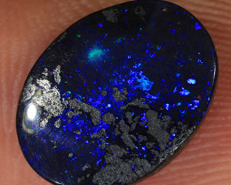 2.65ct 12x9mm Queensland Boulder Opal  [LOB-2323]
