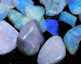 50cts Coober Pedy Opal Rough Parcel DT-6411 - dreamtimeopals