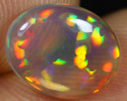 2.50cts Solid Crystal Floral Pattern Ethiopian Opal