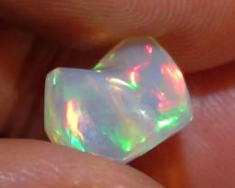 3.0 ct Ethiopian Gem Color Carved Freeform Welo Opal
